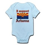I support Arizona Infant Bodysuit