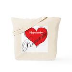 Hopelessly Romantic Tote Bag