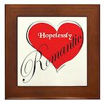 Hopelessly Romantic Framed Tile