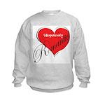 Hopelessly Romantic Kids Sweatshirt