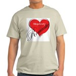 Hopelessly Romantic Ash Grey T-Shirt