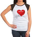 Hopelessly Romantic Women's Cap Sleeve T-Shirt
