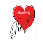 Hopelessly Romantic Postcards (Package of 8)
