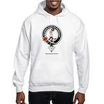 Dennistoun Clan Crest Badge Hooded Sweatshirt