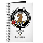 Davidson Clan Crest Badge Journal