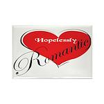 Hopelessly Romantic Rectangle Magnet