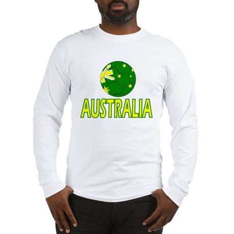 Australia Soccer 2010 Long Sleeve T-Shirt