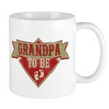 Pennant Grandpa To Be Mug