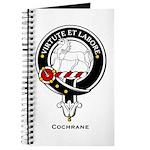 Cochrane Clan Crest Badge Journal