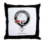 Cochrane Clan Crest Badge Throw Pillow