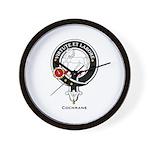 Cochrane Clan Crest Badge Wall Clock