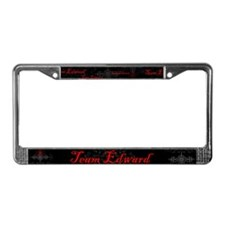 Team Edward Vampire License Plate Frame