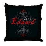 Team Edward Vampire Throw Pillow