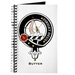 Butter Clan Crest Badge Journal