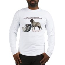 Mastiff Brindle Male Long Sleeve T-Shirt