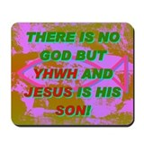 THERE IS NO GOD BUT YHWH AND JESUS IS HIS SON! Mou