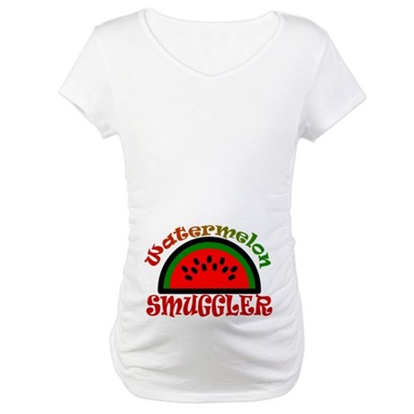 Watermelon Smuggler Maternity Shirt