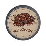 Sulawesi Wall Clock