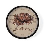 Sulawesi Wall Clock