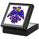 Cave Art Bird Keepsake Box