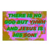 THERE IS NO GOD BUT YHWH AND JESUS IS HIS SON! Pos
