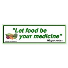 Alternative Health Care Food Bumper Bumper Sticker