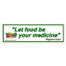Alternative Health Care Food Bumper Stickers