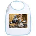 Domestic Flight Pigeons Bib