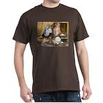 Domestic Flight Pigeons Black T-Shirt