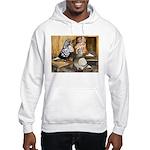 Domestic Flight Pigeons Hooded Sweatshirt