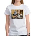 Domestic Flight Pigeons Women's T-Shirt