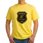 Glendale Police Bike Squad Yellow T-Shirt