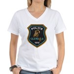 Glendale Police Bike Squad Women's V-Neck T-Shirt