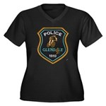 Glendale Police Bike Squad Women's Plus Size V-Nec