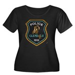 Glendale Police Bike Squad Women's Plus Size Scoop