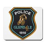 Glendale Police Bike Squad Mousepad