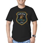 Glendale Police Bike Squad Men's Fitted T-Shirt (d