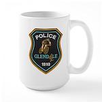Glendale Police Bike Squad Large Mug