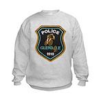 Glendale Police Bike Squad Kids Sweatshirt