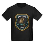Glendale Police Bike Squad Kids Dark T-Shirt