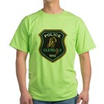 Glendale Police Bike Squad Green T-Shirt