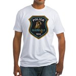 Glendale Police Bike Squad Fitted T-Shirt