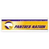 Panther Bumper Bumper Sticker