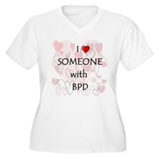 I_heart_someone_BPD Plus Size T-Shirt