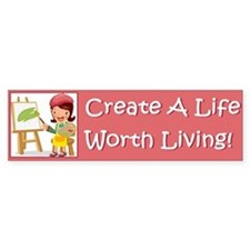 Funny Depression Bumper Sticker