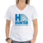 Hunter Business School Women's V-Neck T-Shirt