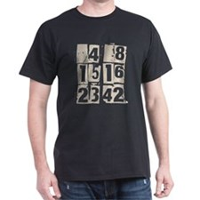 Lost Numbers [grunge] Dark T-Shirt