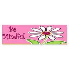 Cute Personalized daisy Bumper Sticker
