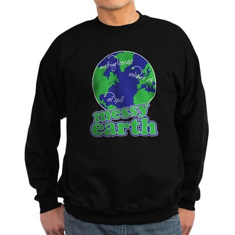 messy earth Sweatshirt (dark)