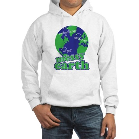messy earth Hooded Sweatshirt